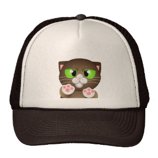 Kitty - Brown Shorthair Hats