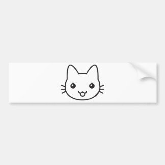 Kitty Bumper Sticker