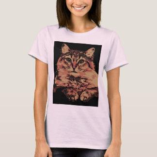 kitty-cat-catch-a-glance-pop-art T-Shirt