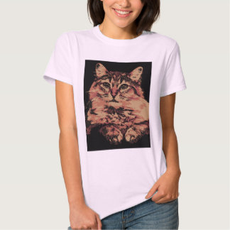 kitty-cat-catch-a-glance-pop-art tshirt