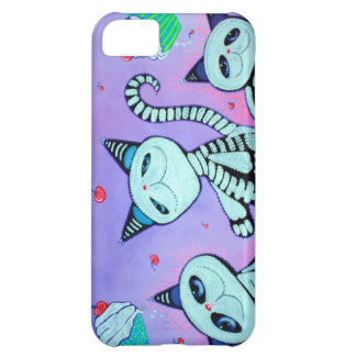 Kitty Cat Cupcakes iPhone 5C Case