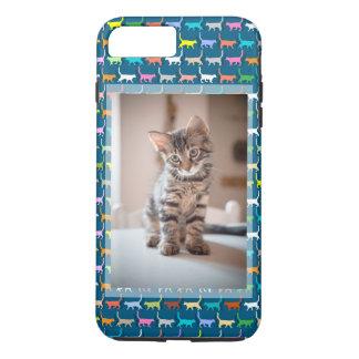 Kitty Cat Custom Photo Cat Print iPhone 8 Plus/7 Plus Case