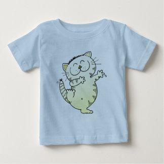Kitty Cat Dance Baby T-Shirt