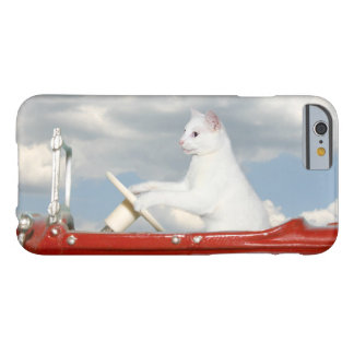 Kitty cat drives a car barely there iPhone 6 case