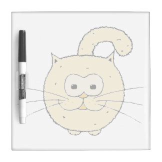 Kitty-cat Dry Erase Whiteboard