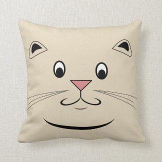 Kitty Cat Face Cushion