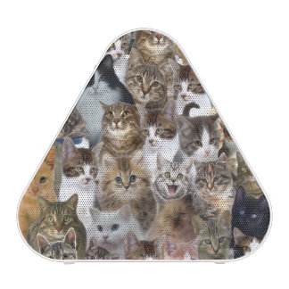 Kitty Cat Faces Pattern