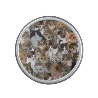 Kitty Cat Faces Pattern Bluetooth Speaker
