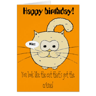 Kitty-cat Greeting Cards