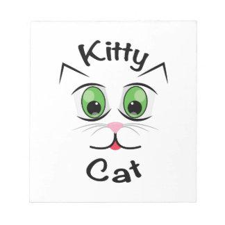 Kitty Cat Notepad
