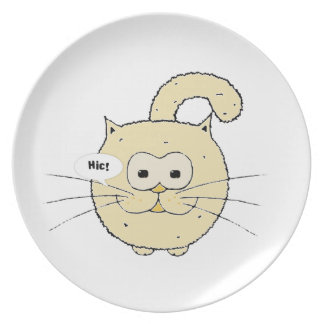 Kitty-cat Party Plate