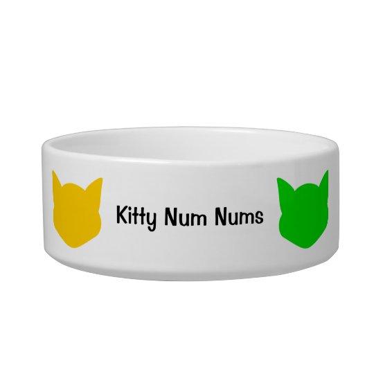 Kitty Cat Rainbow Pet Bowl