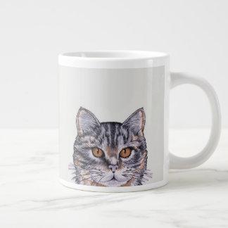 Kitty Cat Tabby LARGE 20oz Coffee Friend Large Coffee Mug
