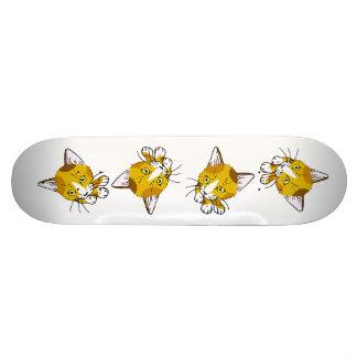 Kitty-cat , Tortoiseshell  (三毛猫) Skate Board Decks