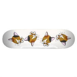 Kitty-cat Tortoiseshell 三毛猫 Skateboard