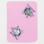 Kitty Cats BLAST Pink Baby Blanket
