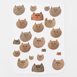 KITTY CATS!! PRAMBLANKET