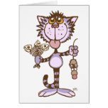 Kitty Cat's Show of Love greeting card