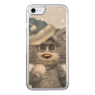 Kitty Cats Winter Wonderland Carved iPhone 8/7 Case