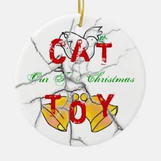 Kitty Christmas Christmas Ornament