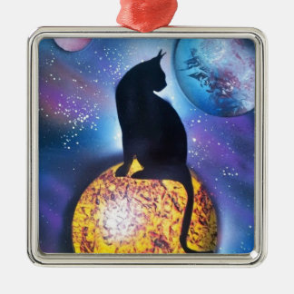Kitty Christmas Ornament