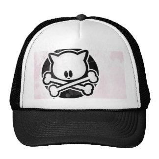 Kitty Crossbones Cap