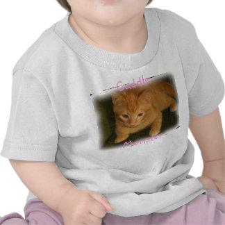 Kitty Cuddle Monster Shirts