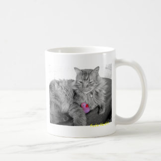 """Kitty Cuddles"" Rubber Duck Mug"