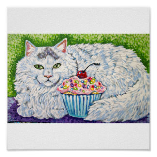 KITTY CUPCAKE POSTERS