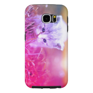 Kitty Curious Samsung Galaxy S6 Cases
