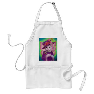 Kitty Fairy Godmother Adult Apron