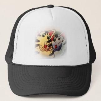 Kitty Friends Trucker Hat
