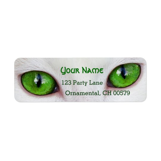 Kitty green eyes