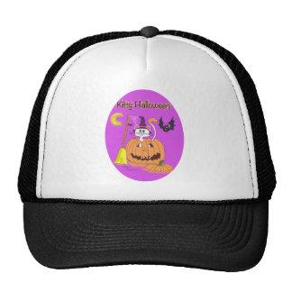 Kitty Halloween oval Hat