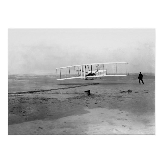 Kitty Hawk, NC Wright Brothers First In Flight Poster