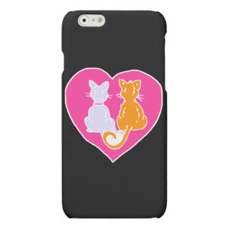 Kitty Hearts iPhone 6 Plus Case