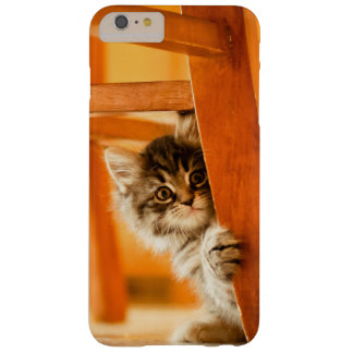 Kitty Holding Chair Leg Barely There iPhone 6 Plus Case