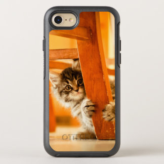 Kitty Holding Chair Leg OtterBox Symmetry iPhone 8/7 Case
