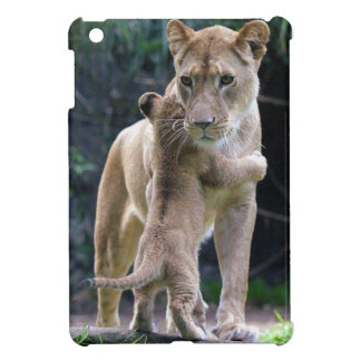 Kitty Hugging Tiger iPad Mini Case