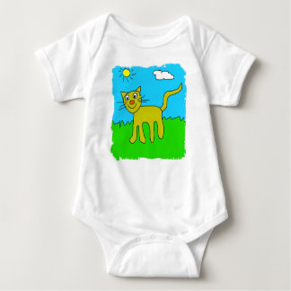 kitty infant creeper