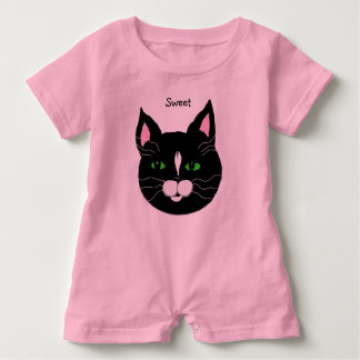 Kitty Infant Romper