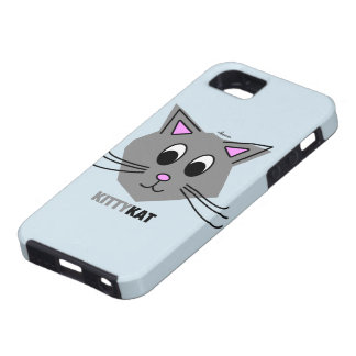 Kitty Kat - iPhone 5 Cover