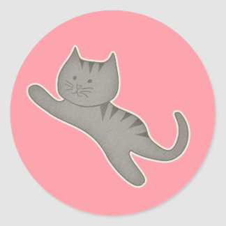 Kitty Kat Sticker