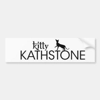 Kitty Kathstone autosticker Bumper Sticker