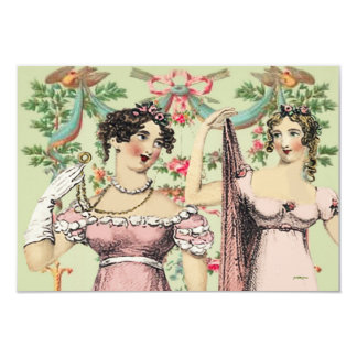 Kitty Kelly Jane Austen Thank You or Save the Date Card