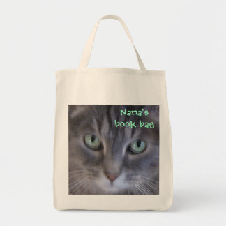 Kitty, Kitty Oil Painting Book Bag