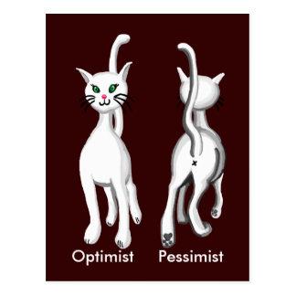 Kitty kitty post card