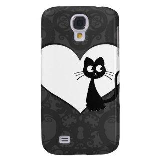 Kitty Kuro Love I Galaxy S4 Case