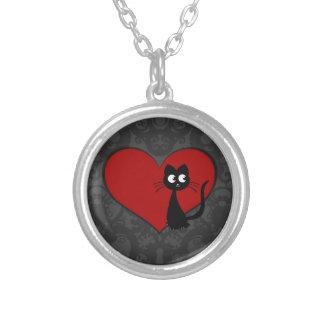 Kitty Kuro Love II Round Pendant Necklace