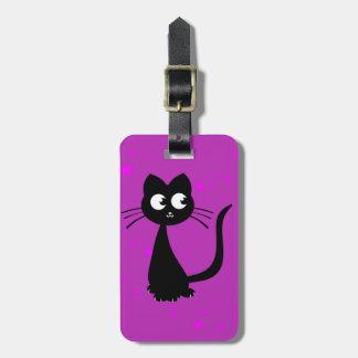 Kitty Kuro Luggage Tag